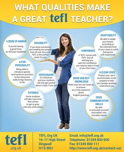 Qualities that make a good teacher essay