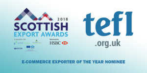 Ecommerce Exporter of the Year Scottish Export Awards
