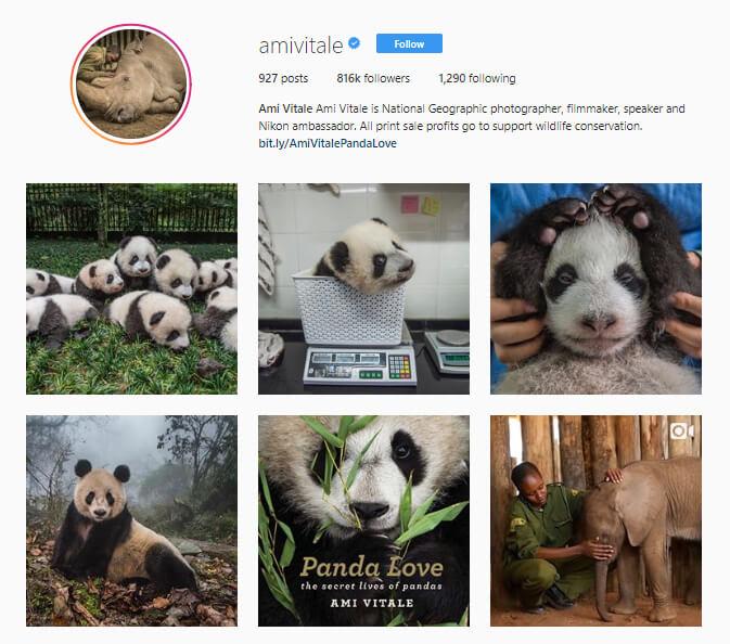 Ami Vitale Instagram