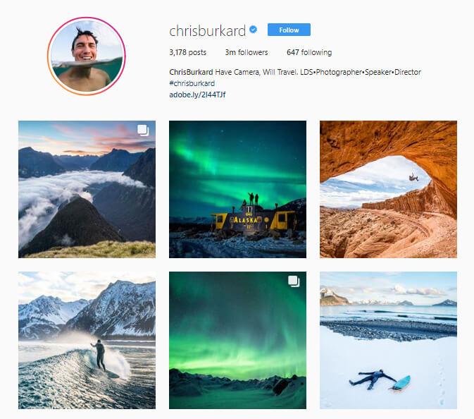 Chris Burkard Instagram
