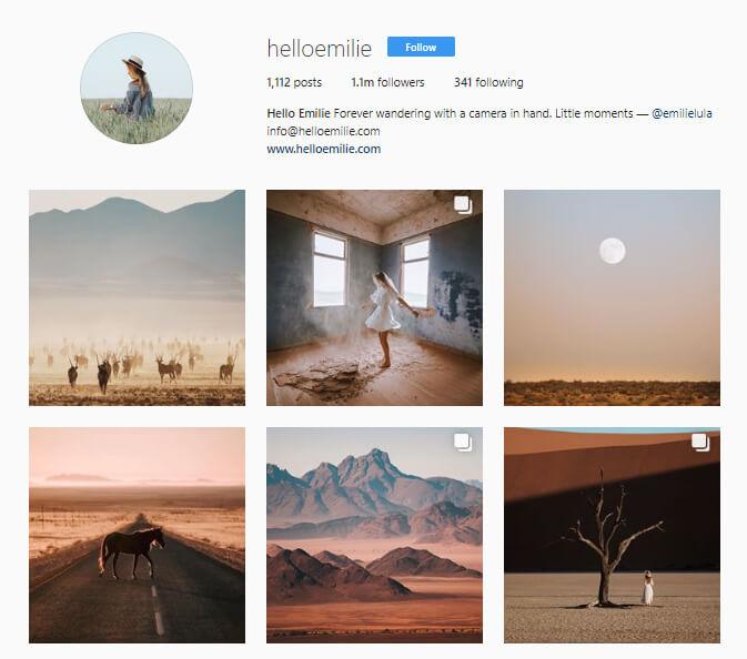 helloemillie instagram