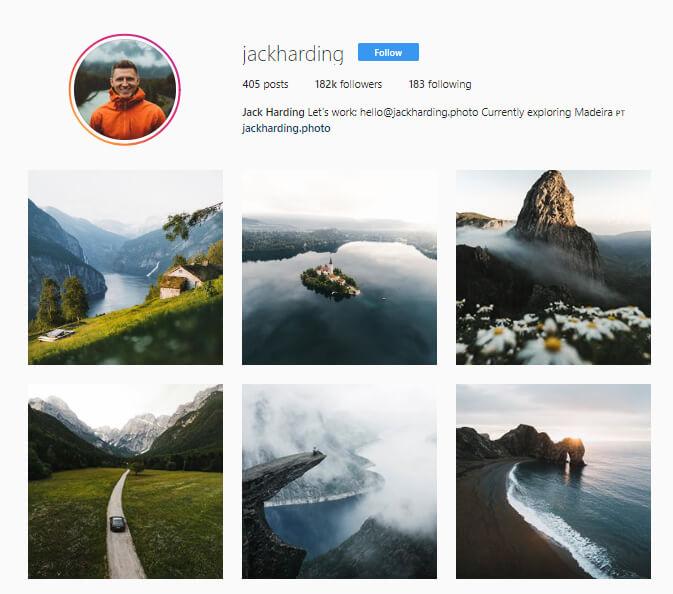 Jack Harding Instagram