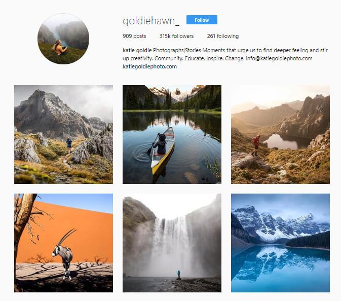 Katie Goldie Instagram