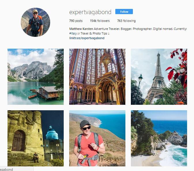 expertvagabond instagram