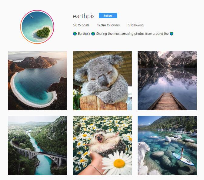 Earthpix instagram