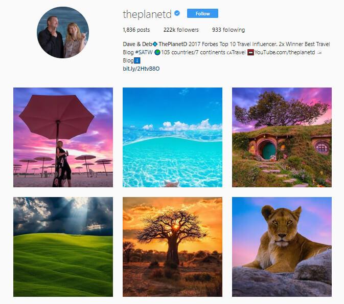 theplanetd instagram