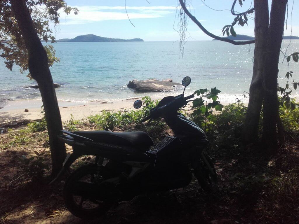 Daniel's motorbike